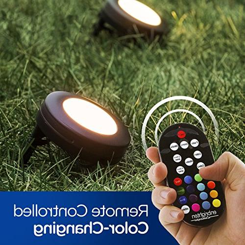 Enbrighten & Color Changing, Outdoor, Spotlight, Path Light, 41012
