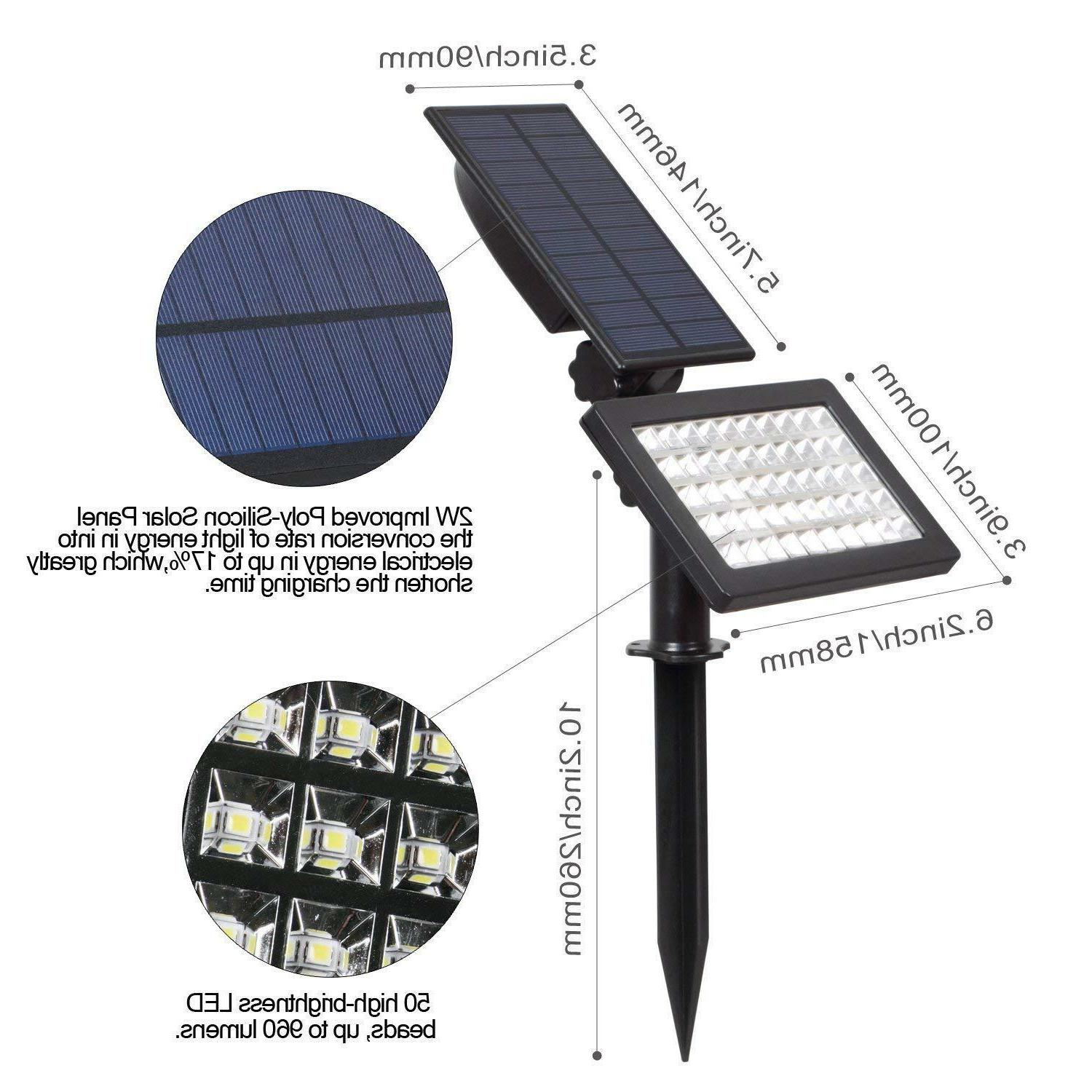 Solar Power Landscape Lights Garden Pathway Lamp