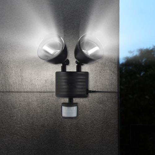 Solar Motion Security Spotlight Dual Flood Colors