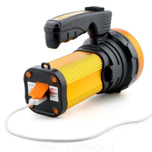 Super Bright LED Searchlight Rechargeable Portable