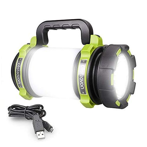 ultra bright multifunctional camping rechargeable