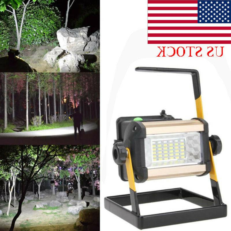 us stock 36 led rechargeable floodlight portable