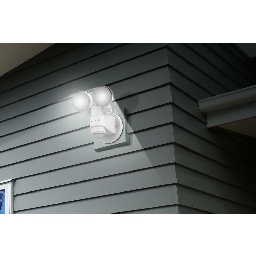 White Motion Outdoor Security Light Degree