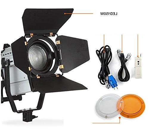 ASHANKS led 150W Dimmable Light Wireless Remote Photo and Video