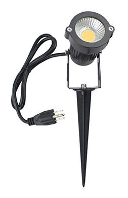 J.LUMI GSS6005 LED Spotlight 5W, 120V AC, 3000K Warm White,