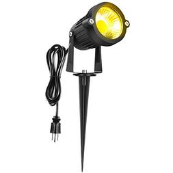 warmoon Outdoor LED Landscape Spotlight 5W Waterproof Decora