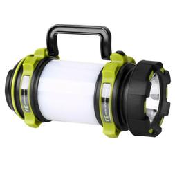 LE USB Rechargeable Camping Lantern Dimmable LED Spotlight O