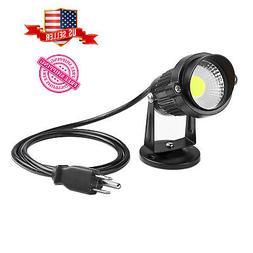 LED 5W All Weather Spotlight Plug in Indoor/Outdoor Energy-s
