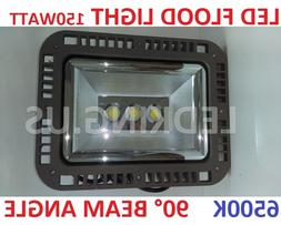 LED FLOOD LIGHTS 150WATT 6500K 90° BEAM ANGLE YARD GARDEN O
