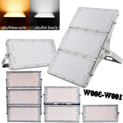 LED Flood Lights 300W 200W 100W Garden Landscape Path Spot L