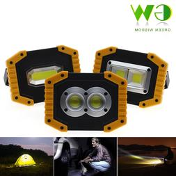 USB Charging LED Floodlight Work Light <font><b>Rechargeable