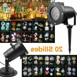 LED Projection Lights Waterproof Outdoor Rotate Moving Laser