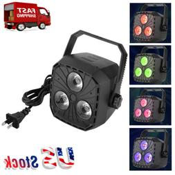 LED Spot Light RGBW Stage Light 9W Rotating Moving Head Mult