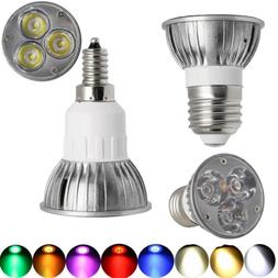 LED Spotlight Indoor Bulb E27 E12 Dimmable Lamp AC 110V 220V