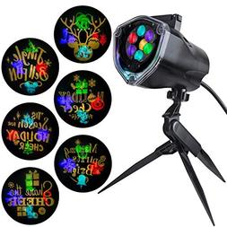 Gemmy Lightshow Projection Disney Plus Whirl a Motion Indoor