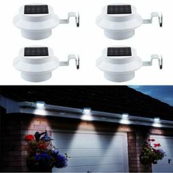 Lot 3-LED Solar Spot Lights Flood Landscape Garden Path Lamp