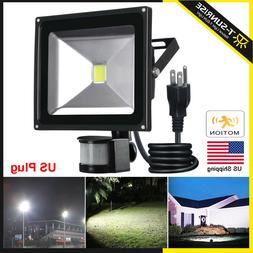 Motion Sensor Outdoor Flood lights 10W/50W Sensitivity Adjus