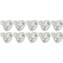 20 Watt MR11 GU4 Halogen Bulbs with Cover Glass 12V 20W FTD