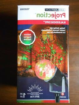 NEW!! LED Light Show Red & Green Projection Kaleidoscope Out