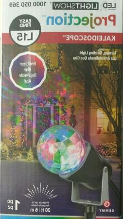 NEW - LED Light Show Red Green & Blue Projection Kaleidoscop