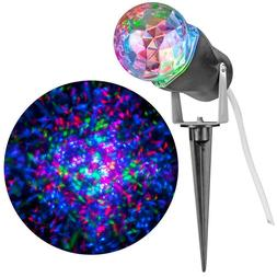 NEW - LightShow 10 in. Red Green Blue Projection Kaleidoscop