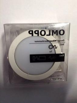 "NIP IKEA OMLOPP LED spotlight 2-5/8"" white  902.883.42 Unde"