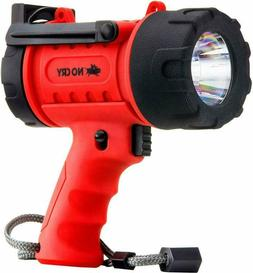 NoCry 18W Waterproof Rechargeable Flashlight  with 1000 Lume