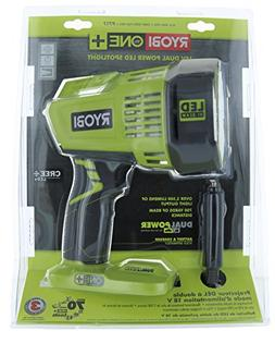 Ryobi 18-Volt ONE+ Dual Power LED Spotlight Light Lighting P
