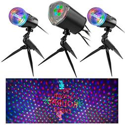 Gemmy Orchestra of Lights Set of 3 Projection Mickey Mouse D