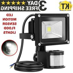 Outdoor Motion Sensor LED Flood Lights Waterproof Wall Lamp