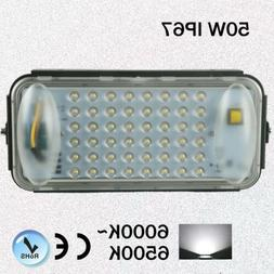 Pole Mounted LED Flood Lights 120 volt 50 watt Wall Waterpro