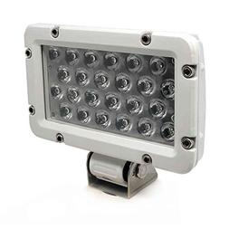 Five Oceans Rectangular Marine/Off-Road LED Spotlight, Cool