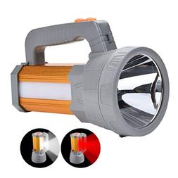 High Powered Super Bright Rechargeable LED Spotlight Flashli