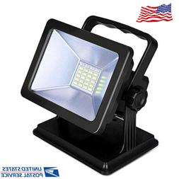 Rechargeable LED Work Light COB with Magnetic Base Waterproo