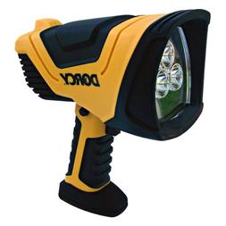 Dorcy 41-1080 Rechargeable Pistol Grip LED Spotlight with Tr