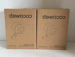 COCOWEB SET OF 2 WIRELESS ULTRABRIGHT MOTION SENSOR SECURITY