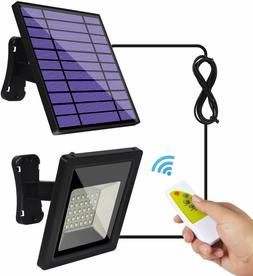 Solar Lights Outdoor IP65 Waterproof Solar Flood Lights 30 L
