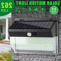 Solar Power Motion Sensor Lamp 30 LED Outdoor Garden Gutter