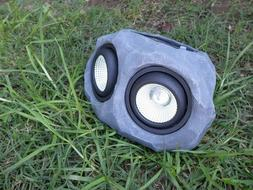 Solar Powered Landscape Spot Rock Lights - Color Changing Ou