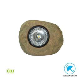 LED Solar Rock Spot Light Outdoor Garden Decorative Yard Wal
