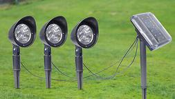 Solar Spot Light 1+3 Style Garden Landscape Flood Lights Law