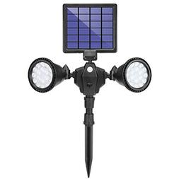 BAXIA TECHNOLOGY Solar Spot Lights Outdoor, Upgraded 36 LED