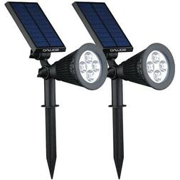 SOLVAO Solar Spotlight  - Ultra Bright, Waterproof, Outdoor
