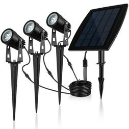 Solar Spotlights 2-in-1 solar Landscape Lights Wall Light Ad