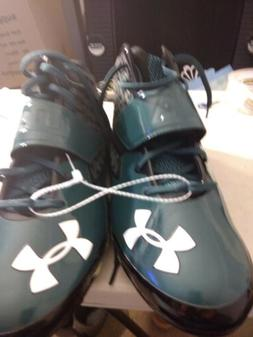 Under Armour Spotlight Limited Edition Green Football Cleats