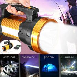 Super Bright LED Searchlight Rechargeable Handheld Spotlight