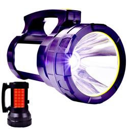 super bright searchlight handheld portable spotlight recharg