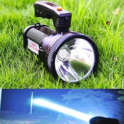 Super Bright Torch Searchlight Handheld Portable LED Spotlig