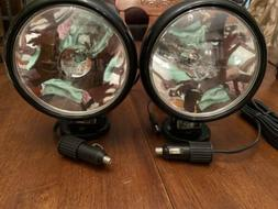 TWO Larson Electronics Magnalight HML-5M Spotlights Magnetic