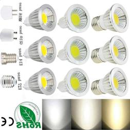 Ultra Bright MR16/GU10/E27/E14 Dimmable 6W/9W/12W LED COB Sp